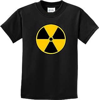 Buy Cool Shirts Kids Radiation T-Shirt Radioactive Fallout Symbol Youth Tee