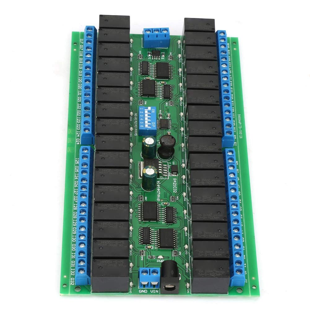 Stable Good Contact DC 12V Switching Relay Mo 32-Channel New popularity Under blast sales Control
