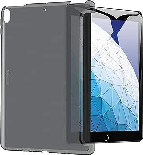 ESR iPad Air 3 ケース iPad Pro 10.5 カバー クリア バックカバー 軽量 スマートキーボード対応 スリム ハード PC キズ防止 指紋防止 iPad Air 2019/ iPad Pro 10.5 2017モデル通用(グレー)