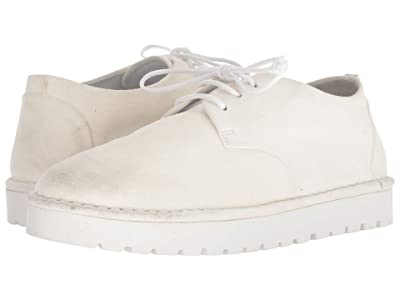 Marsell Gomme Patent Lace-Up (White) Women