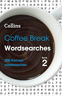 Coffee Break Wordsearches Book 2: 200 Themed Wordsearches