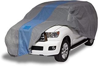 Duck Covers Defender SUV Cover for SUVs/Pickup Trucks with Shell or Bed Cap up to 17' 5