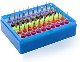 50PCS 0.5-0.9mm PCB Drill Bits 1/8'' Shank Carbide Micro Print Circuit Board