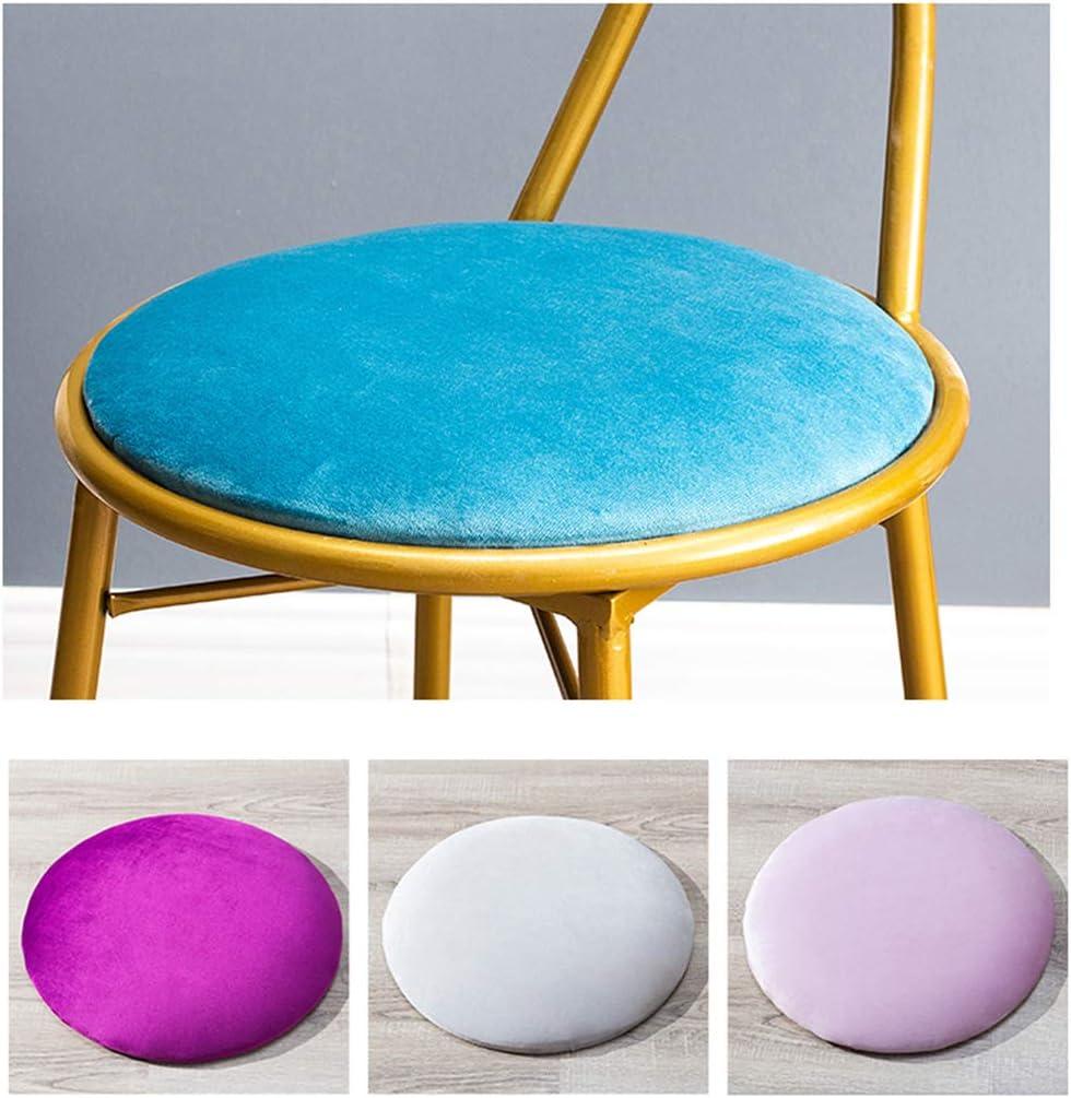 XIAOZHUZHU Sièges de Coiffeuse, Maquillage d'or Tabouret Fille Chambre Chaise de Bureau Chaise de Bureau Dossier Chaise Longue Maison Fer Chaise à Manger Meubles,Violet Purple