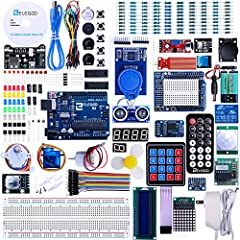 More than 200 components, this is the most complete starter kit you will find. Great value starter kit with 63 kinds of electronic components. Has all the components you need and a free PDF tutorial (more than 30 lessons) to show you how to use them....
