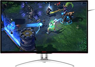 "Monitor Gamer LED 31.5"", AOC Agon AG322FCX , Preto"