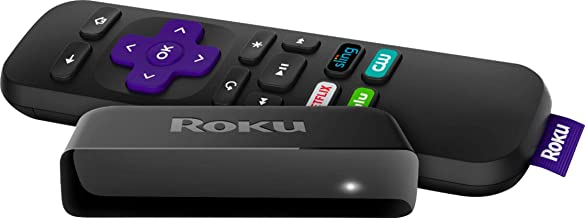 Roku Express+ | 5X More Powerful HD Streaming, Includes HDMI and Composite Cable (2017) (Renewed)