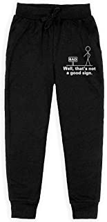 Kim Mittelstaedt Pocket Hedgehog Boys Big Active Basic Casual Pants Sweatpants for Boys Black