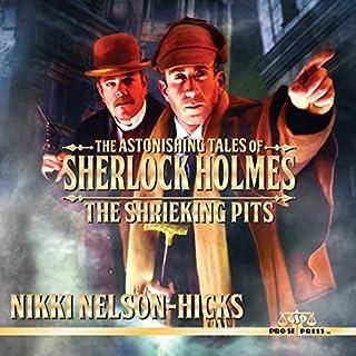 The Shrieking Pits audiobook cover art