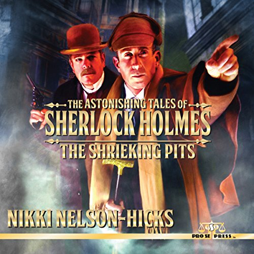 The Shrieking Pits audiobook cover art