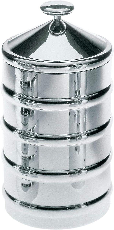 Alessi CB03  Kalisto' 3  Kitchen Box, 3 , Silver