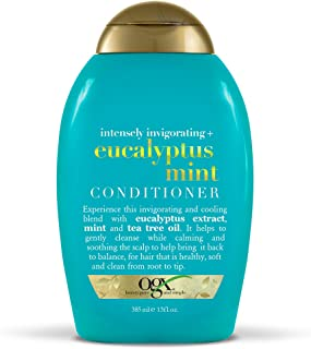 OGX Intensely Invigorating + Eucalyptus Mint Conditioner, 13 Ounce