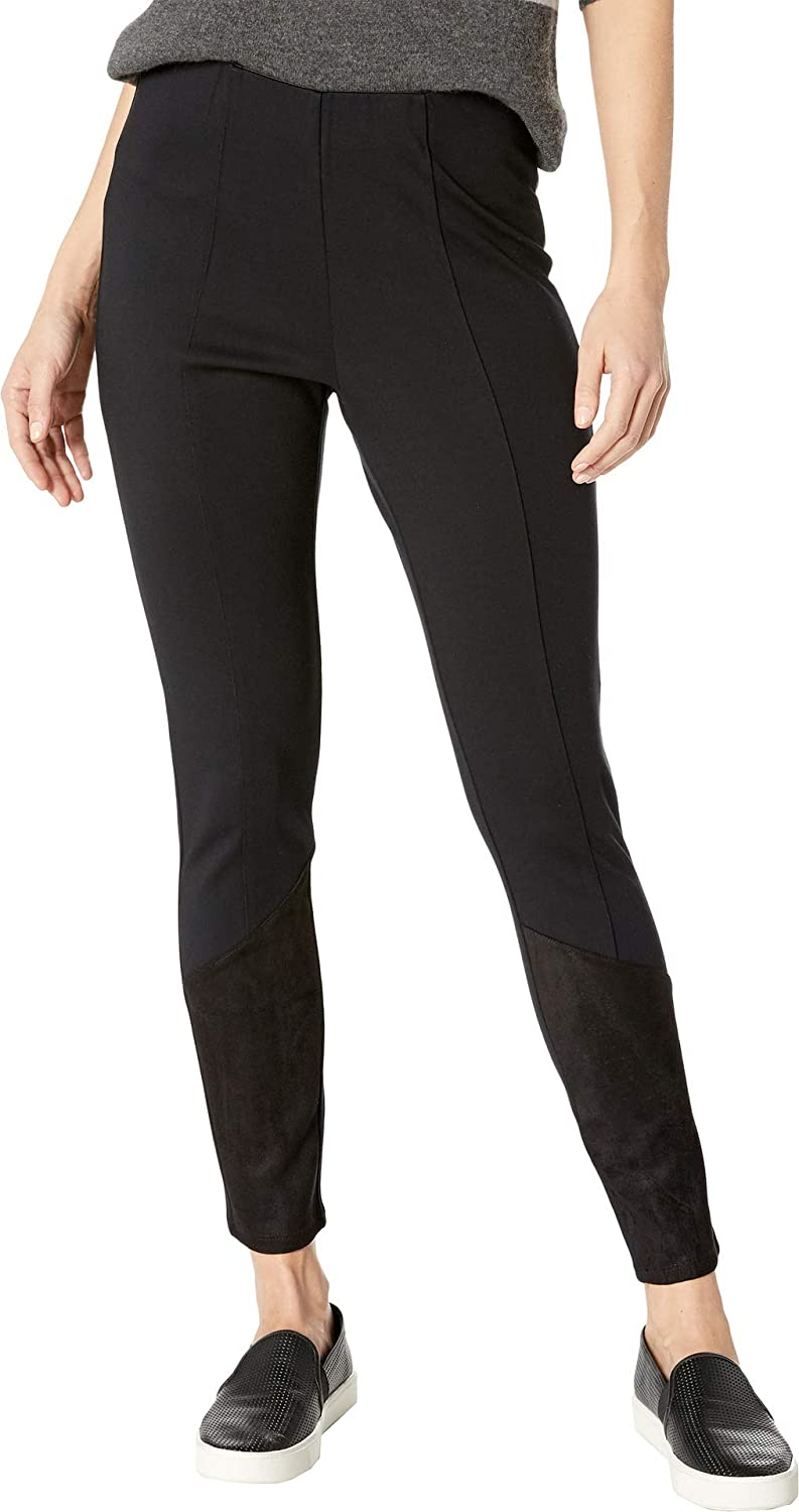 BCBGMAXAZRIA Womens Angled Patch Leggings
