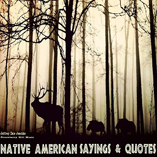 Native American Sayings & Quotes audiobook cover art