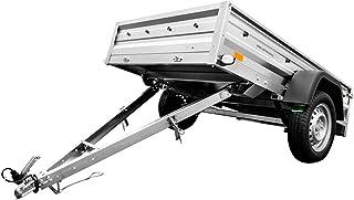 Aanhangwagen met schokdempers 200 x 125 Garden Trailer 205 Unitrailer 750 KG MTM breed