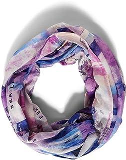 Cecil Damen Loop Viskose Mode-Schal, Frosty Violet, A