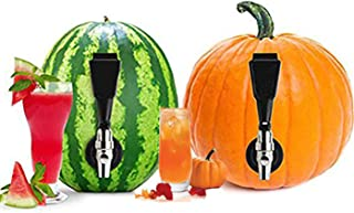 Watermelon Dispenser Keg Tapping Kit – DIY Spigot, Tap, Faucet, Spicket, Spout to Turn Melons and Pumpkins into Party Cocktails