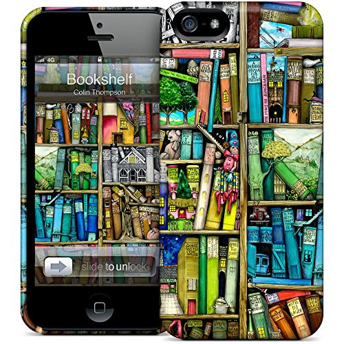 HardCases for iPhone 5/5S by Gelaskin STYLE: Bücherregal