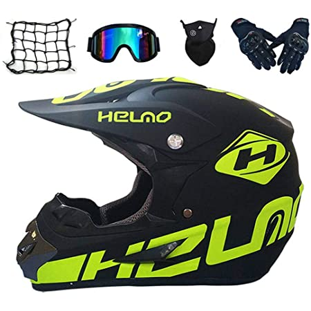 Sk Lbb Motocross Mx Helme Motorrad Crosshelme City Helme Motorrad Motocross Motorradhelme Handschuhe Schutzbrillen D O T Standard Kinder Quad Bike Atv Go Kart Helm S Sport Freizeit