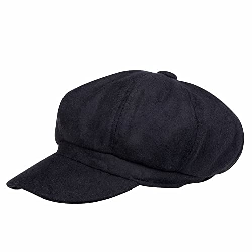 VBIGER Newsboy Hat Beret Hat Fedora Wool Blend Cap Collection Hats Cabbie  Visor Cap Men Women 0be0bda3c08