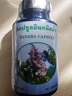 BANABA (Lagerstroemia Speciosa) Capsules