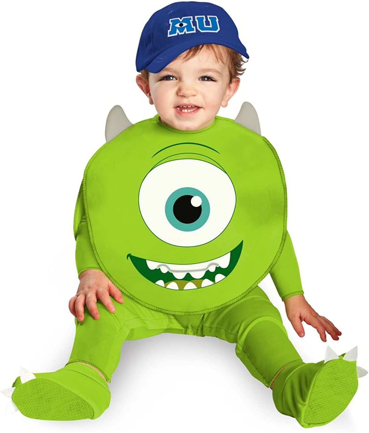 Disguise Costumes Disney Pixar Monsters University Mike Classic Infant, Green White bluee, 1218 Months