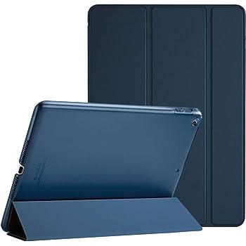 "Procase Funda para iPad 6 2018/iPad 5 2017 9.7"" Modelos Viejos A1893 A1954 A1822 A1823, Carcasa Delgada Ligera Posterior Translúcido Cubierta Inteligente para iPad 9.7 Pulgadas 2018/2017 -Azul Marino"