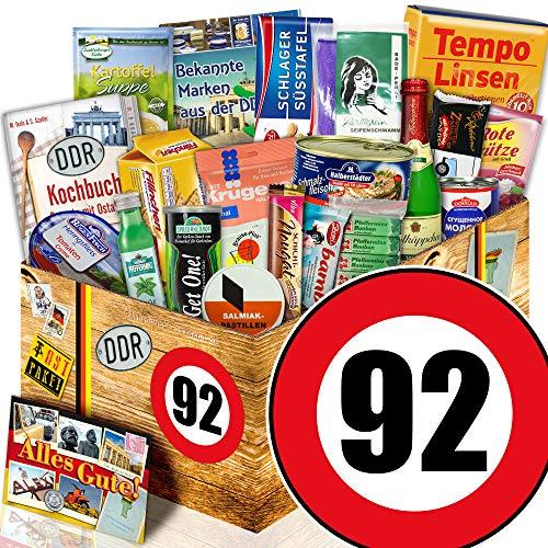 DDR Paket / Spezialitätenset / Zahl 92 / Geschenk Box Opa