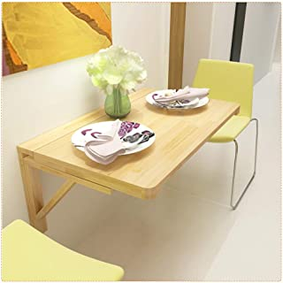 Table À Manger Murale, Bureau Pliant À Abattant pour Petits Espaces, Table D'ordinateur, Design Pliable, Mobilier Simple ,...