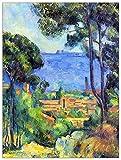 ArtPlaza Cezanne Paul - Landscape, Dekorative Paneele,