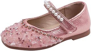 WEXCV Babyschoenen, kleinkinderen, meisjes, strass, pailletten, parels, sandalen, prinsessens, zomer, herfst, elegant, mod...
