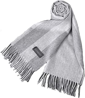 Scarf for Men Soft Cashmere Feel Scarf For Men,All-match Cashmere Men's Scarf In Autumn And Winter, 100% Cashmere Warm Str...