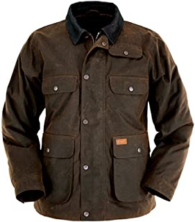 Outback Trading Men's Overlander Jacket - Bronze (XXL)