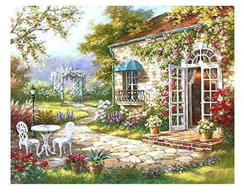 ysldtty Puzzles 1000 Stück Gartenhaus 2000 Abstrakte Moderne Kunst Für Wohnzimmer Artworkpuzzles Spielzeug Für Erwachsene Kinder Puzzle Geschenkmuster Lernspielzeug