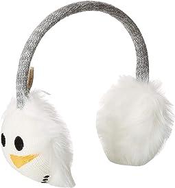 Mr. Snowman Jacquard Earmuffs