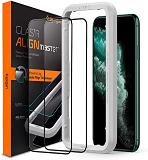Spigen Glas.tR AlignMaster Screen Protector designed for iPhone 11 Pro Max