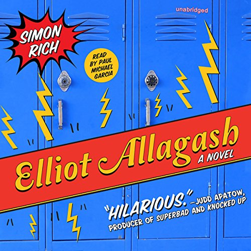 Elliot Allagash audiobook cover art