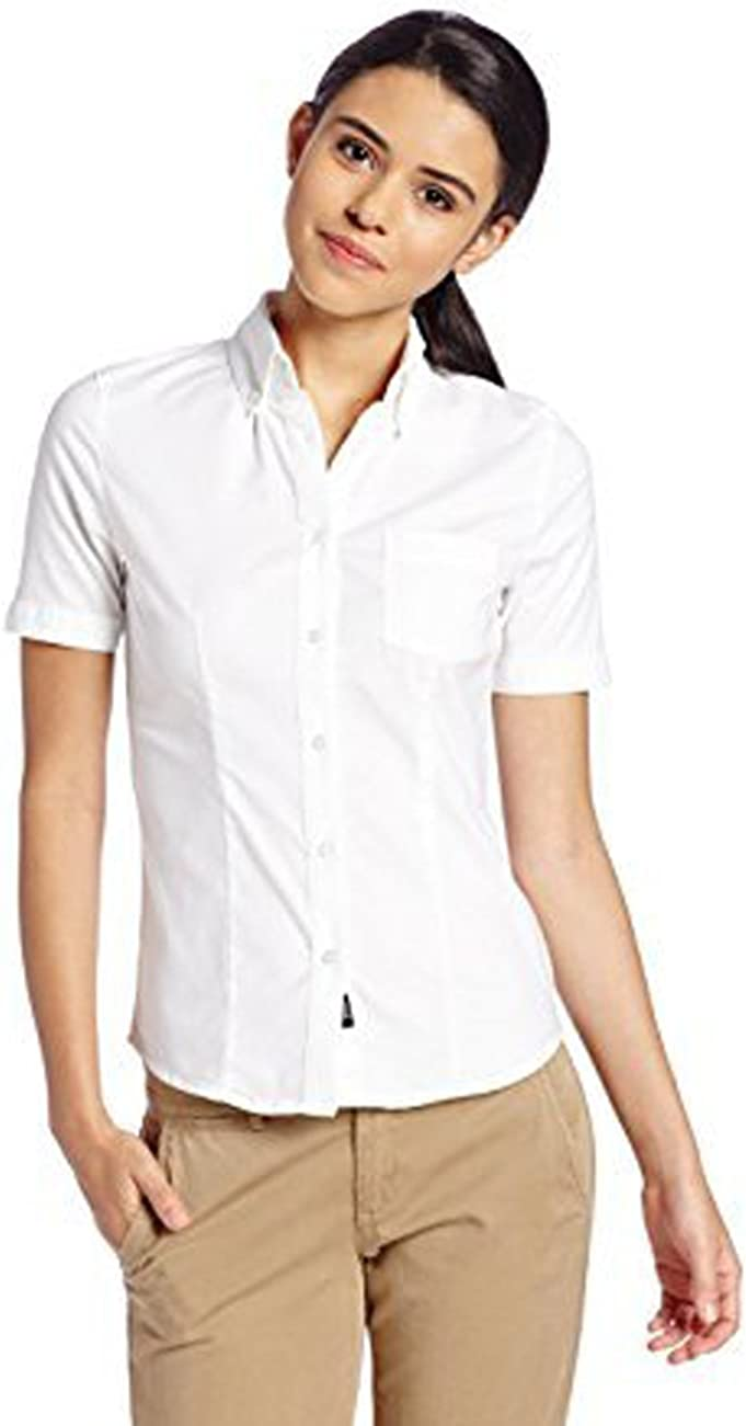Lee Women's Short Sleeve Stretch Pique Polo Shirt