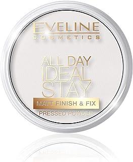 Eveline All Day Ideal Stay Matt Finish&Fix Pressed Powder, No 60