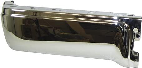 For 2009-2014 Ford F150 Styleside Rear Bumper End Chrome W/O Sensor Hole Lh FO1102374