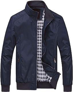 Overgangsjas heren bomberjack zomer blouson jas lichte vrijetijdsjas jassen mannen