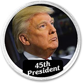 45th President Trump (pic serious face) 3
