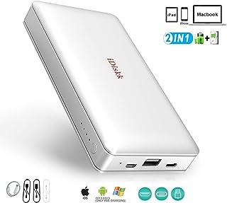 IDISKK MFi CERTIFIED External Hard Drive 1TB (1000GB) for