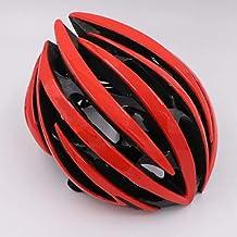LIUDATOU Casco de Bicicleta Ultraligero Casco de Bicicleta Racing Ciclismo Gorras de Seguridad