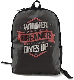 Kimi-Shop School Backpack Winner 3D Adult Outdoor Leisure Mochila Deportiva