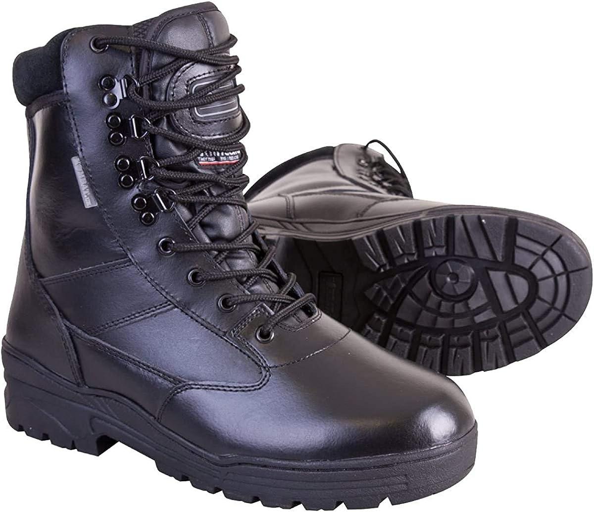 Kombat UK Bottes en cuir pour homme Noir Taille 40 Homme Kombat All Leather
