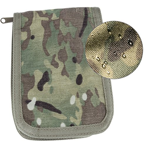 Rite in the Rain Weatherproof Cordura Fabric Notebook Cover, 4' x 6', Multicam Cover (No. C946M), 7.25 x 5.25 x 0.625