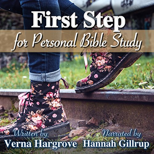 First Step for Christians audiobook cover art