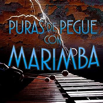 Puras de Pegue Con Marimba
