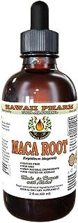 Maca Root Alcohol-Free Liquid Extract, Organic Maca (Lepidium Meyenii) Whole Dried Plant Glycerite Natural Herbal Suppleme...